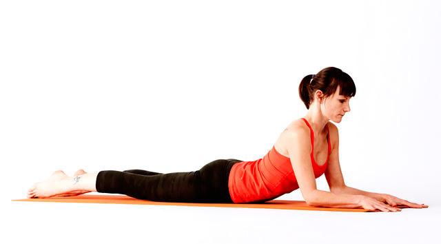 Ardha Bhujangasana - Postura de la Media Cobra - Yogateca 6529040f88aa