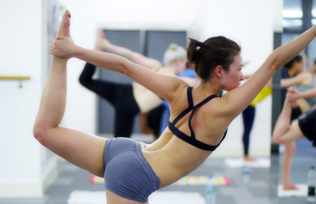 Who can do yoga bikram