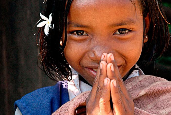 Namaskar - Namaste