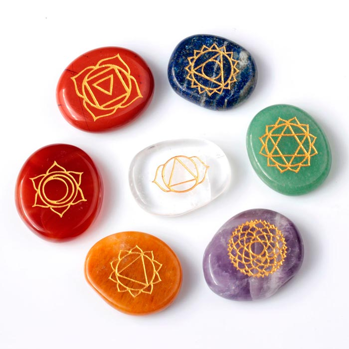 chakras piedras