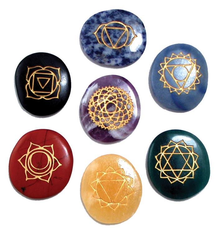 Piedras Chakras
