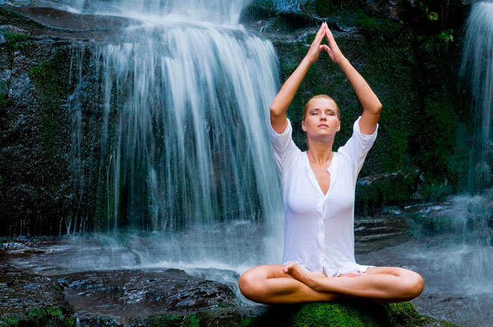 meditar con los elementos