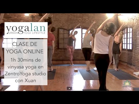 Clase de Vinyasa Yoga
