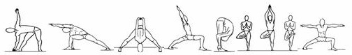 posturas yoga terapeutico