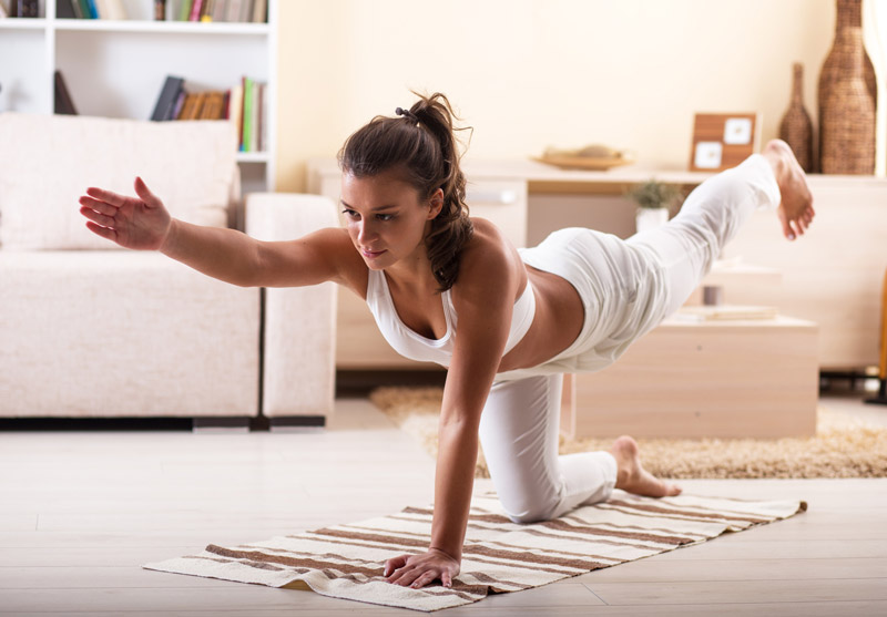 Consejos para practicar yoga en casa