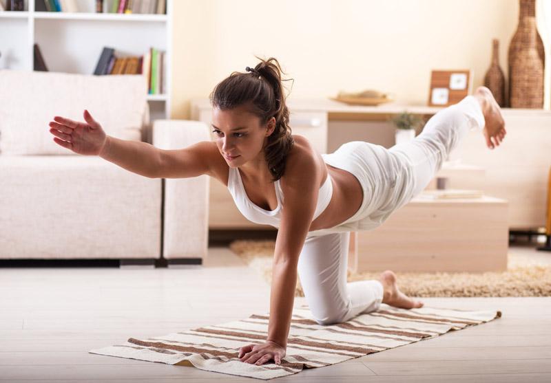yoga en casa yogateca. Black Bedroom Furniture Sets. Home Design Ideas