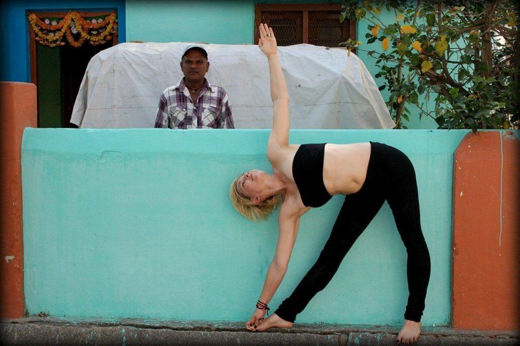 O melhor lugar para praticar yoga na Índia 11
