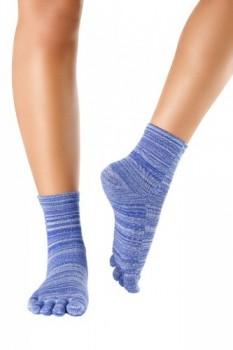 Knitido-Wellness-Massage-Calcetines-de-tobillo-alto-con-dedos-Bienestar-y-Masaje-0