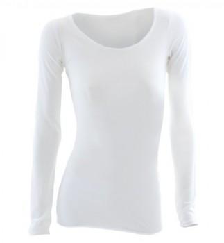 Natural-Born-Yogi-Wonderful-Words-Camiseta-de-manga-larga-de-yoga-para-mujer-diseo-de-palabras-en-ingls-blanco-blanco-TallaM-0