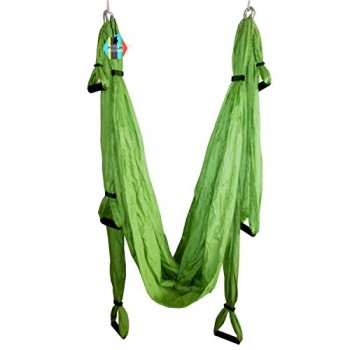 Pellor-Hamaca-Correa-volar-para-AntiGravity-Yoga-Pilates-area-Verde-0