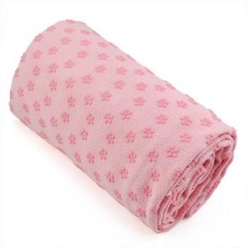 SODIALR-Toalla-Hot-Yoga-Mat-antideslizante-Manta-Con-Los-Puntos-de-placas-de-silicona-y-malla-Carry-Bag-rosa-0