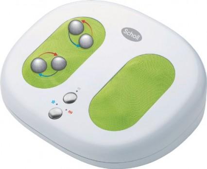 Scholl-DRI-451-Masajeador-de-pies-color-blanco-y-verde-0