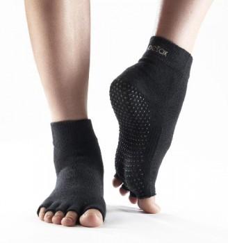 Yoga-Mad-Calcetines-deportivos-antideslizantes-negro-negro-Tallasmall-0